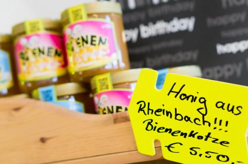 Bienenkotze<sup>&reg;</sup> &#8211; Jetzt auch im Kiosk am Bahnhof